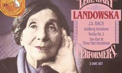 Landowska/Goldber Variations(Bach)