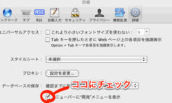 Safariを使ってガラケーサイトを表示する方法